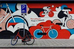 fietsen rotterdam hybride onderwijs